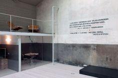 Utilitarian writing on the wall