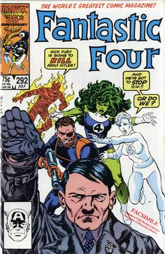 She-Hulk and The Invisible Woman ask the big questions in Fantastic Four issue 292. (OR DO THEY??)