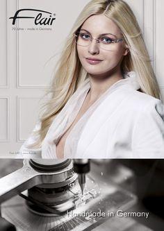 randlose Damenbrille Modell Flair 640