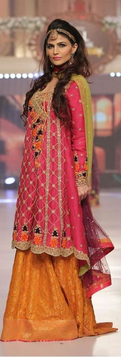 Sana Abbas Collection at Telenor Bridal Couture Week 2015 #TBCW2015