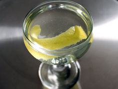 The Tuxedo (No. 2) Cocktail:  Finding delicious alternatives to the martini