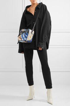 Balenciaga - Oversized Denim Shirt - Black - FR42