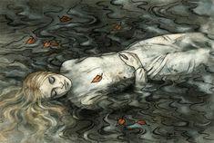 Unhappy fate - Illustrations by Liga Klavina  <3 <3