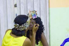 Aventuras na Amazônia : Desfile de beleza exaltou a cultura afro-brasileira em Pimenteiras do Oeste