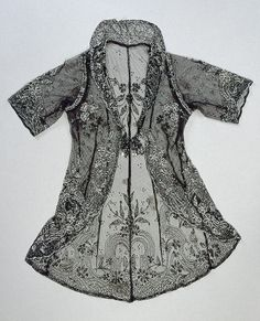 Lady's Jacket Embroidered with Plant and C-Shaped Scroll Motifs, Late 19th - Early 20th Century. The State Hermitage Museum: Digital Collection
