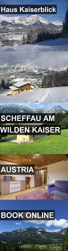 Hotel Haus Kaiserblick in Scheffau am Wilden Kaiser, Austria. For more information, photos, reviews and best prices please follow the link. #Austria #ScheffauamWildenKaiser #travel #vacation #hotel