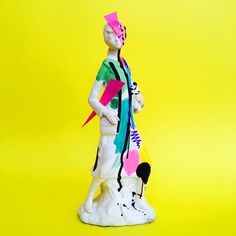 Lauro Samblás' Artist Portfolio Barcelona-based artist Lauro Samblás is an urban primitive in the most colourful sense of the word. Presentation Pictures, Graffiti, Lab, Artist Portfolio, Weird Art, Print Magazine, Art Model, Rupaul, Cinema 4d