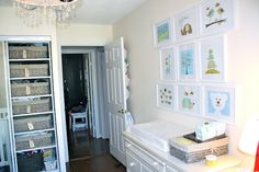love this nursery from Simcoe Street