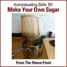 How To Make Your Own Sugar Sugar will always be a great thing to have in a SHTF situation We used to grow sugar beets in the SLV - NP Survival Food, Survival Prepping, Emergency Preparedness, Survival Quotes, Homestead Survival, Outdoor Survival, Survival Skills, Do It Yourself Fashion, Do It Yourself Home