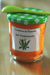 Vin de Pissenlit: Le Terroir Vendéen: Confiture De Pissenlit