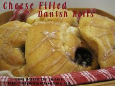 cheese filled danish rolls