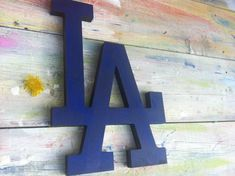 sport art baseball decor Los Angeles Dodgers sign wall hanging, wooden letters, sport fan gift, wood sign, gift for baseball fan