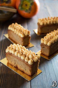 Mini cakes de Caqui Caramelizado y Canela