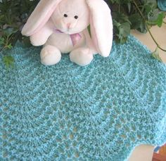 Knitting Pattern For Rippling Waves Afghan : 1000+ images about Gifts to Make - Baby/Baby Shower on Pinterest Baby blank...