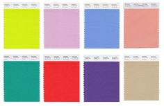 Pantone officially released its Spring 2018 color trend report featuring 12 colors instead of the usual 10. Check out the colors we'll all be wearing here.