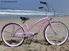 Firmstrong Bella 3 Speed, Pink - Womens 26 Beach Cruiser Bike