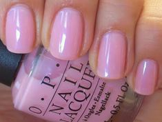 OPI: I Pink I Love You.  My daily standard.
