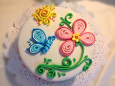 #Quilling #Cake - Torta con tecnica Quilling