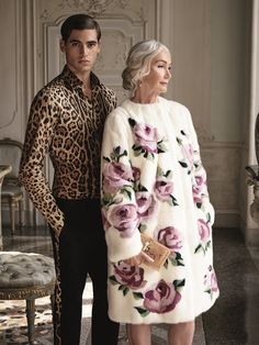 Shop the exclusive dolce & gabbana collection at harrods Luxury Lifestyle Fashion, Luxury Fashion, I Love Fashion, Womens Fashion, Animal Print Fashion, Street Style Looks, Daily Wear, Harrods, Editorial Fashion