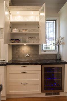 traditional kitchen with windowed overhead cabinets wwwthekitchendesigncentrecomau. Interior Design Ideas. Home Design Ideas