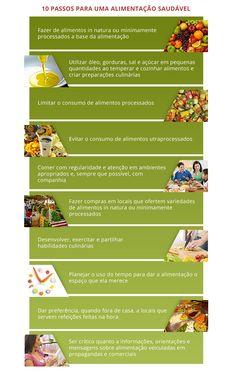 Os 10 passos para alimentação saudável - sociedade brasileira de diabetes