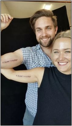 50 Tattoo Designs for Couples - Make the Perfect Choice Fast! ▷ 1001 Ideas for Matching Couple Tattoos to Help You Declare Your, E Tiny Couples Matching Tattoos Ideas Arrow Tattoos Meaningful Tattoos For Couples, Finger Tattoos For Couples, Sibling Tattoos, Couples Tattoo Designs, Tattoos For Women, Romantic Couples Tattoos, Men Tattoos, Subtle Tattoos, Unique Tattoos