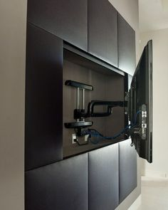 Flat Screen Tv Wall Brackets Design, Pictures, Remodel, Decor and Ideas - page 2 #Tvwallunits
