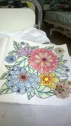 46. Moje ukochane kwiaty :) w szpitalu najwięcej się odstresowuję