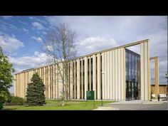 The Straw Bale Building by Make Architects - YouTube