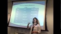 What Is Lean SIx Sigma? Presented by Tracy O'Rourke