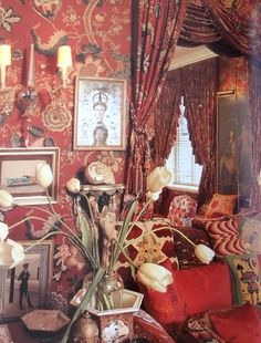 Diana Vreeland's home NYC by Billy Baldwin