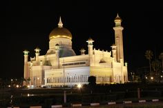 The Sir Omar Ali Saifuddin Mosque or also known as the S.O.A.S Mosque in the capital.