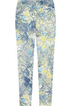 Erdem Sidney floral-print twill skinny pants   THE OUTNET #WeddingGuest