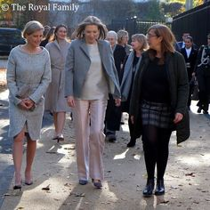 The Countess of Wessex joined First Lady, Maria Clemencia Rodriguez de Santos on the tour of the Vanessa Nursery School and Cathnor Park Children's Centre in Shepherd's Bush, West London.