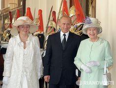 с Королевой Елизаветой