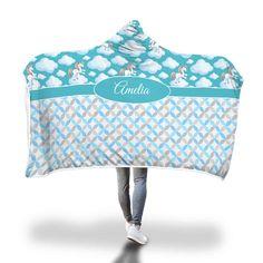 Blue Unicorn in Clouds Hooded Blanket – Designing on Wine Little Unicorn, Hooded Blanket, Snuggles, Little Ones, Blankets, Hoods, Cozy, Wine, Design
