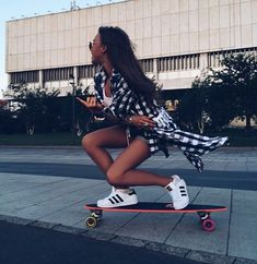 girl, adidas, and skateboard imageYou can find Skateboard girl and more on our website.girl, adidas, and skateboard image Skateboard Images, Skateboard Girl, Skateboard Cake, Skateboard Design, Skater Girl Style, Skater Girl Outfits, Skater Girl Fashion, Thrasher, Moda Skate