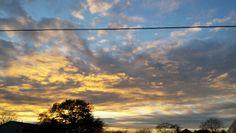 Beautiful sunset tonight