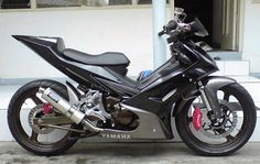 Modifikasi Motor Yamaha Jupiter MX 135 cc