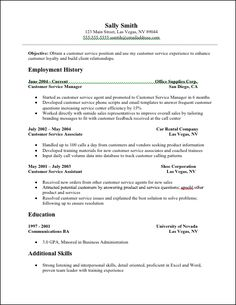 Customer Service And Sales Resume Magnificent Customer Service Sales Cv Examples  Httpwww.resumecareer .
