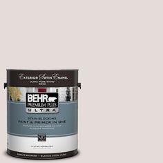 BEHR Premium Plus Ultra 1-Gal. #UL250-12 Crushed Peony Satin Enamel Exterior Paint