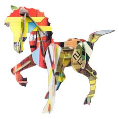 Recycled Cardboard Horse Kit