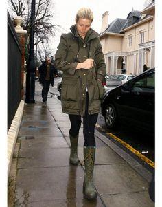 Winter Celebrity Street Style - Winter Celebrity Fashion - Harper's BAZAAR