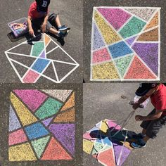 abc My little man and I had a blast making this driveway chalk art this afternoon! It was a perfect sunny day activity. ☀️ I'm thinking when I'm back at school in the fall I can do it on a much bigger scale with my Kinders! Doodle Challenge, Drawing For Kids, Art For Kids, Chalk Art Quotes, 3d Chalk Art, Quotes Quotes, Street Art, Art Tumblr, Chalk Design