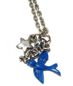 Wish Upon a Star Fairy Tale Necklace by MidnightHouseElves on Etsy