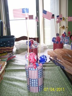 4th of July decorations twocraftingmoms