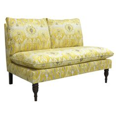 Skyline Furniture Alessandra Settee Loveseat & Reviews | Wayfair