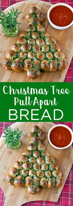 45 Delicious Christmas Appetizers To Serve At Your Holiday Party- Cheese Stuffed Christmas Tree Pull-Apart Bread with Marinara This simple to make pull-apart bread is sure to impress your guests this holiday season. Just 7 ingredients is all you need! Christmas Eve Dinner, Christmas Party Food, Xmas Food, Christmas Appetizers, Christmas Cooking, Appetizers For Party, Appetizer Recipes, Dinner Recipes, Appetizer Ideas