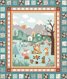Camp A Long Critters Quilt #1 by