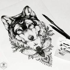 Le loup et la lune                                                                                                                                                      Mais
